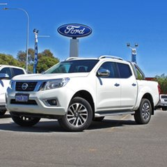 2017 Nissan Navara D23 S2 ST-X White 7 Speed Sports Automatic Utility.