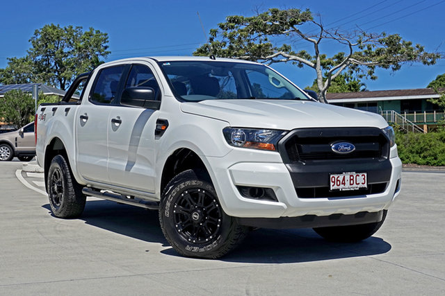 Used Ford Ranger PX XL Capalaba, 2015 Ford Ranger PX XL White 6 Speed Sports Automatic Utility