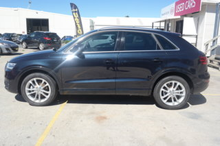 2014 Audi Q3 8U MY14 TFSI S Tronic Quattro Black 7 Speed Sports Automatic Dual Clutch Wagon.