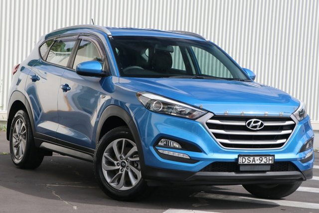 Used Hyundai Tucson TL MY17 Active X 2WD Wollongong, 2017 Hyundai Tucson TL MY17 Active X 2WD Blue 6 Speed Manual Wagon