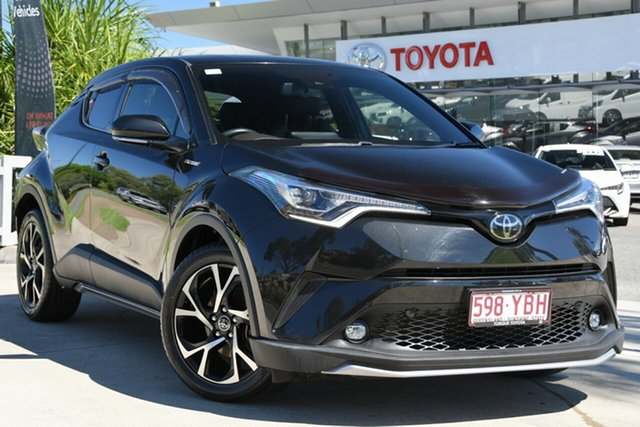 Pre-Owned Toyota C-HR NGX50R Koba S-CVT AWD North Lakes, 2018 Toyota C-HR NGX50R Koba S-CVT AWD Ink 7 Speed Constant Variable Wagon