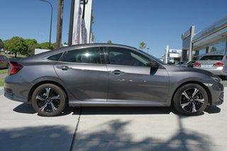 2018 Honda Civic 10th Gen MY18 RS Grey 1 Speed Constant Variable Sedan