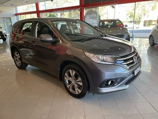 2014 Honda CR-V RM MY15 VTi Plus Grey 5 Speed Automatic Wagon.
