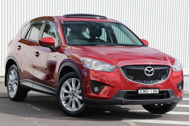 Used Mazda CX-5 KE1071 Grand Touring SKYACTIV-Drive AWD Wollongong, 2012 Mazda CX-5 KE1071 Grand Touring SKYACTIV-Drive AWD Zeal Red 6 Speed Sports Automatic Wagon