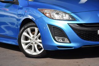 2010 Mazda 3 BL10L1 SP25 Blue 6 Speed Manual Hatchback
