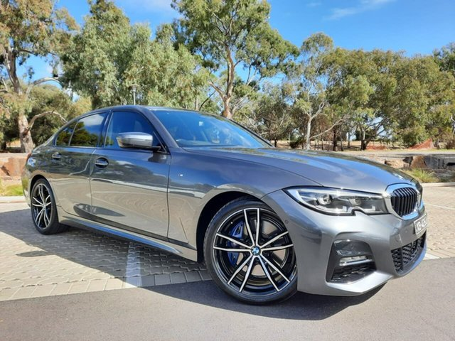 Used BMW 3 Series G20 330i Steptronic M Sport Adelaide, 2018 BMW 3 Series G20 330i Steptronic M Sport Grey 8 Speed Sports Automatic Sedan