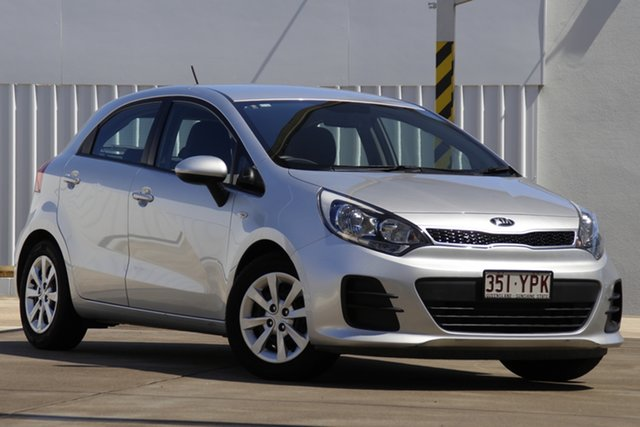 Used Kia Rio UB MY16 S Bundamba, 2016 Kia Rio UB MY16 S Silver 4 Speed Sports Automatic Hatchback