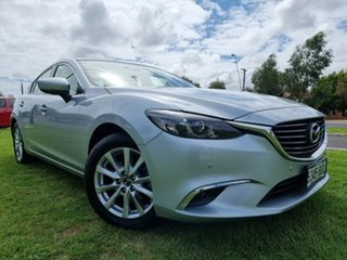 2016 Mazda 6 GL1031 Touring SKYACTIV-Drive Sonic Silver 6 Speed Sports Automatic Sedan.