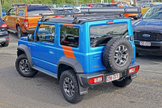 2019 Suzuki Jimny JB74 GLX Blue 5 Speed Manual Hardtop.