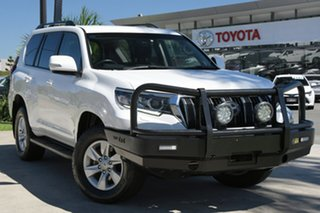 2017 Toyota Landcruiser Prado GDJ150R GXL Glacier White 6 Speed Sports Automatic Wagon.