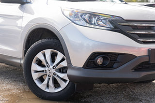 2014 Honda CR-V RM MY14 DTi-S 4WD Silver 5 Speed Automatic Wagon.