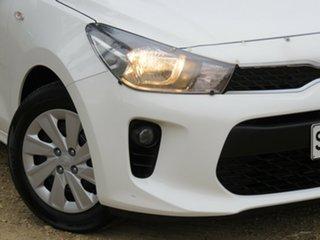 2018 Kia Rio YB MY18 S White 4 Speed Sports Automatic Hatchback.