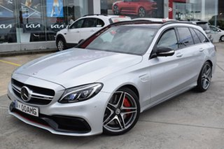 2015 Mercedes-Benz C-Class S205 C63 AMG Estate SPEEDSHIFT MCT S Silver 7 Speed Sports Automatic.