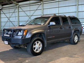 2011 Holden Colorado RC MY11 LX-R Crew Cab Grey 5 Speed Manual Utility.
