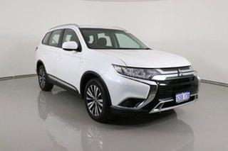 2019 Mitsubishi Outlander ZL MY19 ES 7 Seat (AWD) White Continuous Variable Wagon.