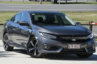 2018 Honda Civic 10th Gen MY18 RS Grey 1 Speed Constant Variable Sedan.