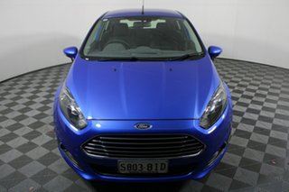2015 Ford Fiesta WZ MY15 Trend PwrShift Blue 6 Speed Sports Automatic Dual Clutch Hatchback.