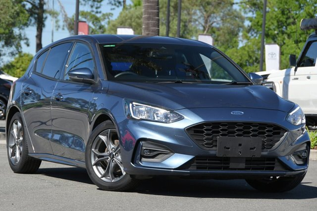 Used Ford Focus SA 2020.25MY ST-Line North Lakes, 2019 Ford Focus SA 2020.25MY ST-Line Blue 8 Speed Automatic Hatchback