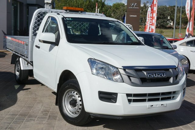 Used Isuzu D-MAX MY14 SX 4x2 Phillip, 2014 Isuzu D-MAX MY14 SX 4x2 White 5 Speed Manual Cab Chassis