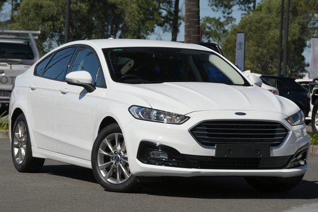 Used Ford Mondeo MD 2019.5MY Ambiente North Lakes, 2019 Ford Mondeo MD 2019.5MY Ambiente White 6 Speed Sports Automatic Dual Clutch Hatchback