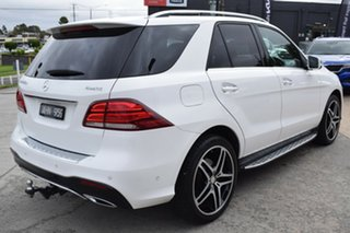 2016 Mercedes-Benz GLE-Class W166 GLE250 d 9G-Tronic 4MATIC White 9 Speed Sports Automatic Wagon