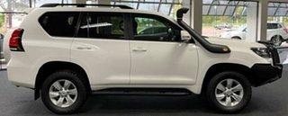 2018 Toyota Landcruiser Prado GDJ150R GXL White 6 Speed Manual Wagon.