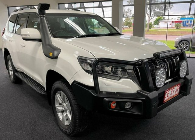 Used Toyota Landcruiser Prado GDJ150R GXL Winnellie, 2018 Toyota Landcruiser Prado GDJ150R GXL White 6 Speed Manual Wagon