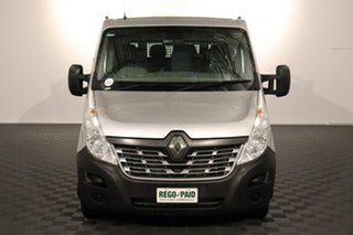 2016 Renault Master X62 Double Cab LWB AMT RWD Silver 6 speed Automatic Cab Chassis.