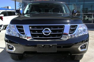 2017 Nissan Patrol Y62 Series 3 TI Black 7 Speed Sports Automatic Wagon.