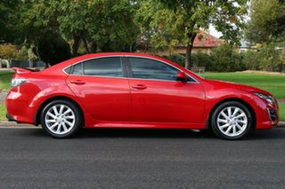2011 Mazda 6 GH1052 MY10 Luxury Red 5 Speed Sports Automatic Sedan