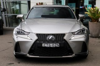 2018 Lexus IS GSE31R IS350 F Sport Silver, Chrome 8 Speed Sports Automatic Sedan