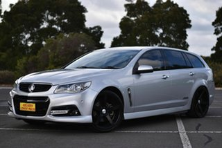 2013 Holden Commodore VF MY14 SS V Sportwagon Silver 6 Speed Sports Automatic Wagon