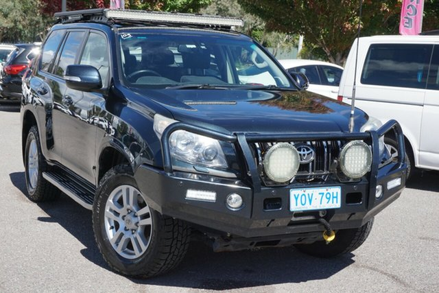 Used Toyota Landcruiser Prado KDJ150R VX Phillip, 2012 Toyota Landcruiser Prado KDJ150R VX Blue 5 Speed Sports Automatic Wagon