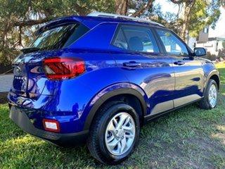 2021 Hyundai Venue QX.V3 MY21 Intense Blue 6 Speed Automatic Wagon