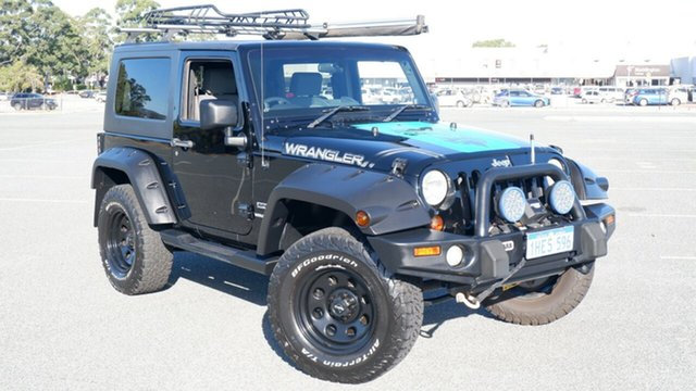 Used Jeep Wrangler JK MY2010 Sport Maddington, 2010 Jeep Wrangler JK MY2010 Sport Black 6 Speed Manual Softtop