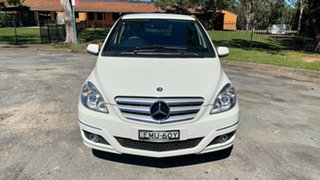 2011 Mercedes-Benz B-Class W245 MY11 B180 White 1 Speed Constant Variable Hatchback.
