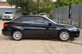 2009 Subaru Impreza G3 MY09 R AWD Black 4 Speed Sports Automatic Sedan