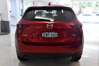 2021 Mazda CX-5 KF2W7A Maxx SKYACTIV-Drive FWD Sport Red 6 Speed Sports Automatic Wagon.