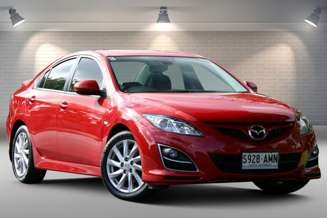 Used Mazda 6 GH1052 MY10 Luxury Nailsworth, 2011 Mazda 6 GH1052 MY10 Luxury Red 5 Speed Sports Automatic Sedan