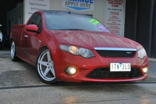 2009 Ford Falcon FG R6 Red 6 Speed Manual Utility.