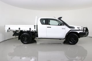 2019 Toyota Hilux GUN126R MY19 SR (4x4) White 6 Speed Manual X Cab Cab Chassis