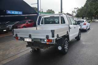 2015 Volkswagen Amarok 2H MY15 TDI420 (4x2) White 8 Speed Automatic Dual Cab Chassis.