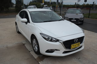 2016 Mazda 3 BM5278 Neo SKYACTIV-Drive White 6 Speed Sports Automatic Sedan.