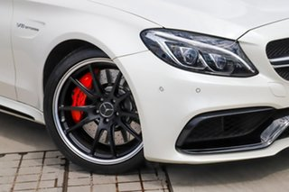 2017 Mercedes-Benz C-Class A205 807+057MY C63 AMG SPEEDSHIFT MCT S Diamond White 7 Speed