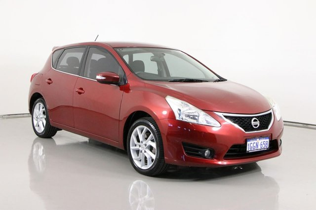 Used Nissan Pulsar C12 ST-S Bentley, 2015 Nissan Pulsar C12 ST-S Red Continuous Variable Hatchback
