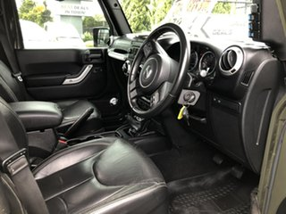 2015 Jeep Wrangler JK MY2015 Unlimited Rubicon Green 6 Speed Manual Softtop