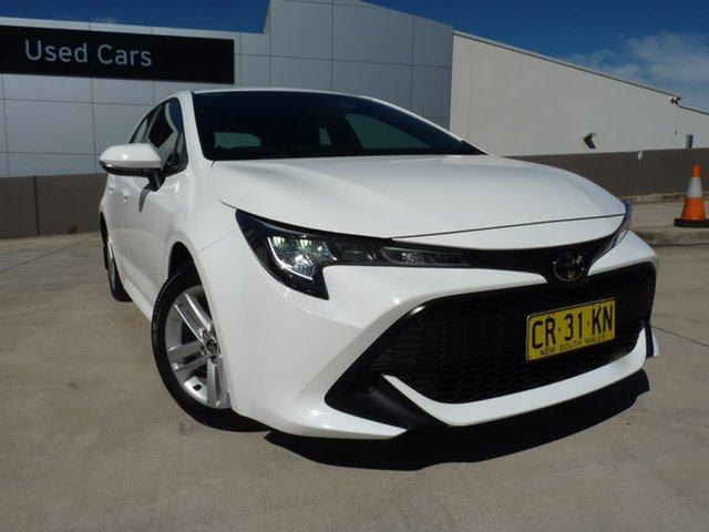 Pre-Owned Toyota Corolla Mzea12R Ascent Sport Blacktown, 2018 Toyota Corolla Mzea12R Ascent Sport Diamond White 10 Speed Constant Variable Hatchback