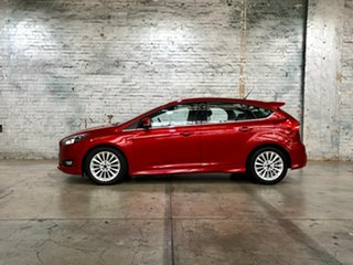 2016 Ford Focus LZ Sport Red 6 Speed Manual Hatchback