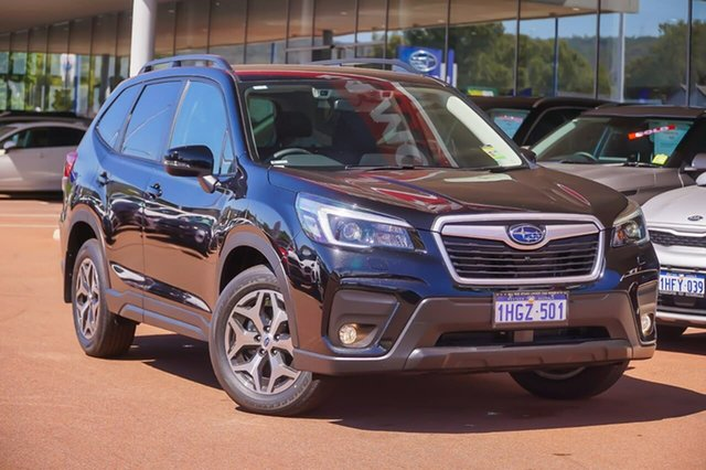 Demo Subaru Forester S5 2.5I-L Gosnells, 2021 Subaru Forester S5 2.5I-L Black Constant Variable SUV