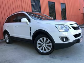 2014 Holden Captiva CG MY15 5 LT White 6 Speed Sports Automatic Wagon.